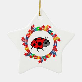 Ornamento De Cerâmica Estrelas do joaninha