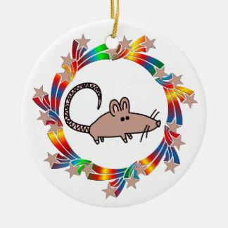 Ornamento De Cerâmica Estrelas do rato