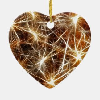 Ornamento De Cerâmica Estrelas dos fogos-de-artifício