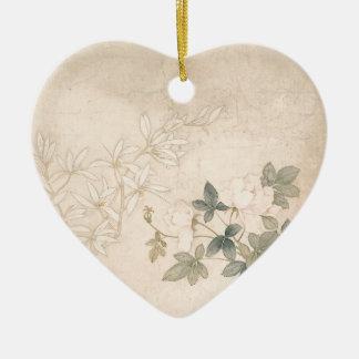 Ornamento De Cerâmica Estudo 2 da flor - YUN Bing (chinês)