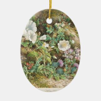 Ornamento De Cerâmica Estudo da flor - John Jessop Hardwick
