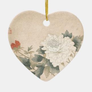 Ornamento De Cerâmica Estudo da flor - YUN Bing (chinês)