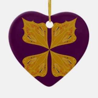 Ornamento De Cerâmica Ethno do vinho do ouro da mandala do design