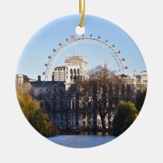 Ornamento De Cerâmica Eu amo Londres!
