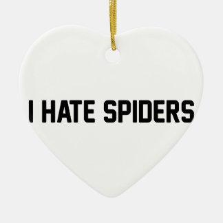 Ornamento De Cerâmica Eu deio aranhas