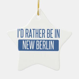 Ornamento De Cerâmica Eu preferencialmente estaria em Berlim nova