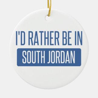 Ornamento De Cerâmica Eu preferencialmente estaria em Jordão sul