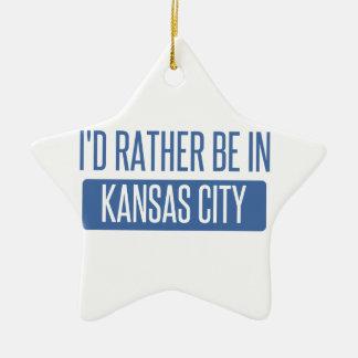 Ornamento De Cerâmica Eu preferencialmente estaria em Kansas City KS