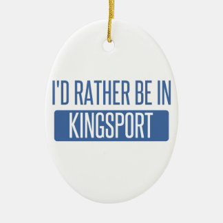 Ornamento De Cerâmica Eu preferencialmente estaria em Kingsport