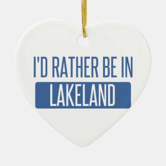 Ornamento De Cerâmica Eu preferencialmente estaria em Lakeland