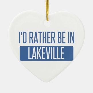 Ornamento De Cerâmica Eu preferencialmente estaria em Lakeville