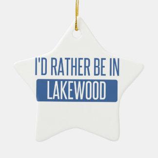 Ornamento De Cerâmica Eu preferencialmente estaria em Lakewood WA