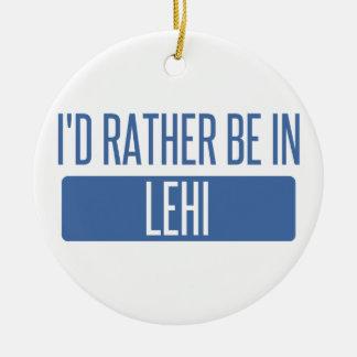 Ornamento De Cerâmica Eu preferencialmente estaria em Lehi