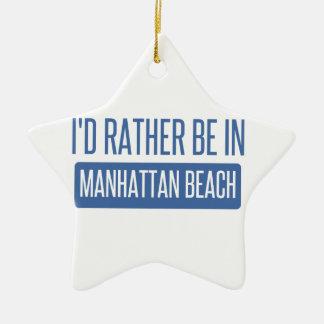 Ornamento De Cerâmica Eu preferencialmente estaria em Manhattan Beach