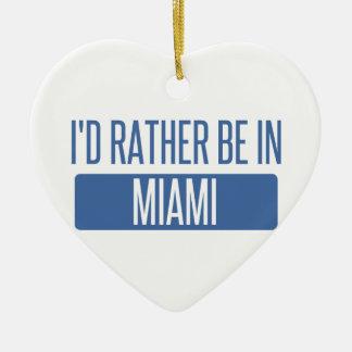 Ornamento De Cerâmica Eu preferencialmente estaria em Miami