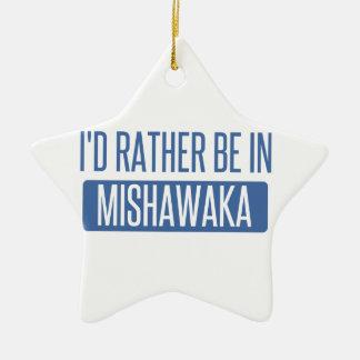 Ornamento De Cerâmica Eu preferencialmente estaria em Mishawaka