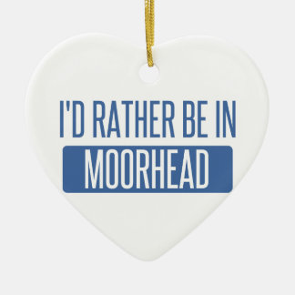 Ornamento De Cerâmica Eu preferencialmente estaria em Moorhead