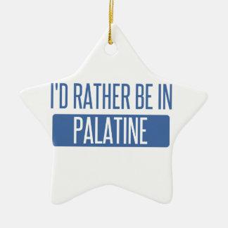Ornamento De Cerâmica Eu preferencialmente estaria em Palatine