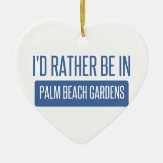 Ornamento De Cerâmica Eu preferencialmente estaria em Palm Beach Gardens