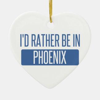 Ornamento De Cerâmica Eu preferencialmente estaria em Phoenix