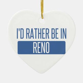 Ornamento De Cerâmica Eu preferencialmente estaria em Reno