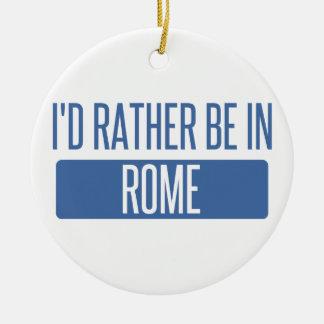 Ornamento De Cerâmica Eu preferencialmente estaria em Roma