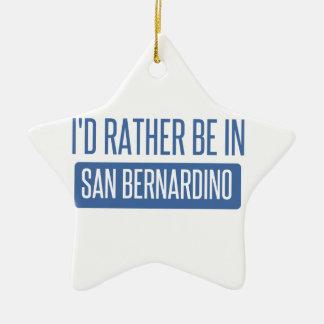 Ornamento De Cerâmica Eu preferencialmente estaria em San Bernardino
