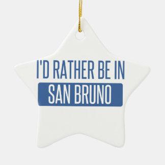 Ornamento De Cerâmica Eu preferencialmente estaria em San Bruno