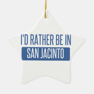 Ornamento De Cerâmica Eu preferencialmente estaria em San Jacinto