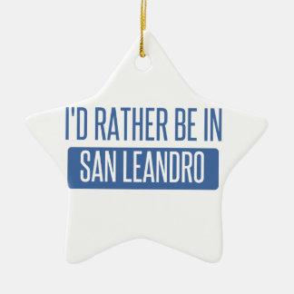 Ornamento De Cerâmica Eu preferencialmente estaria em San Leandro