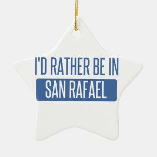 Ornamento De Cerâmica Eu preferencialmente estaria em San Rafael