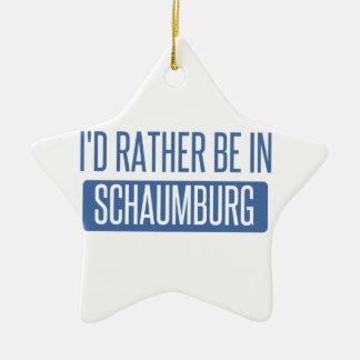 Ornamento De Cerâmica Eu preferencialmente estaria em Schaumburg
