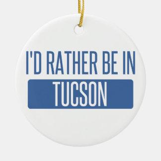 Ornamento De Cerâmica Eu preferencialmente estaria em Tucson