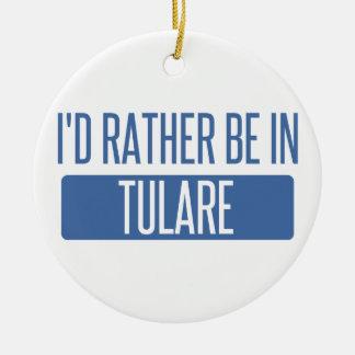 Ornamento De Cerâmica Eu preferencialmente estaria em Tulare