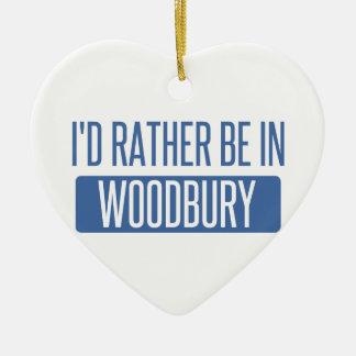 Ornamento De Cerâmica Eu preferencialmente estaria em Woodbury