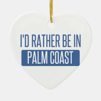 Ornamento De Cerâmica Eu preferencialmente estaria na costa da palma