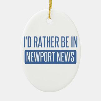 Ornamento De Cerâmica Eu preferencialmente estaria na notícia de Newport
