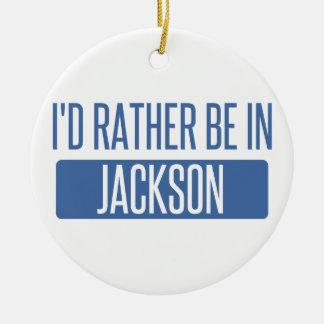 Ornamento De Cerâmica Eu preferencialmente estaria no MS de Jackson