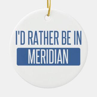 Ornamento De Cerâmica Eu preferencialmente estaria no MS do meridiano