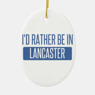 Ornamento De Cerâmica Eu preferencialmente estaria no PA de Lancaster