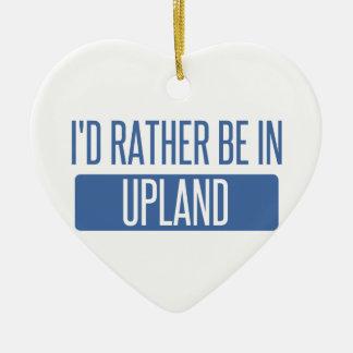 Ornamento De Cerâmica Eu preferencialmente estaria no Upland