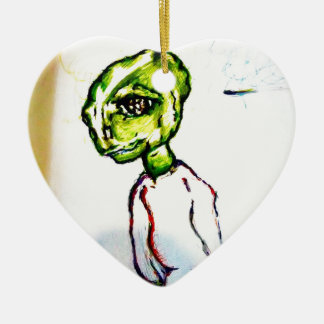 Ornamento De Cerâmica Eu quero ser amado