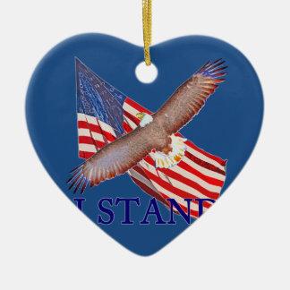 Ornamento De Cerâmica eu represento América