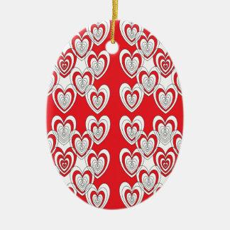 Ornamento De Cerâmica Eu te amo mais