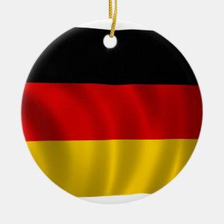 Ornamento De Cerâmica Europeu alemão de Europa do símbolo da bandeira