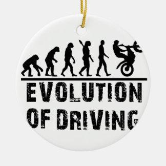 Ornamento De Cerâmica Evolução da condução