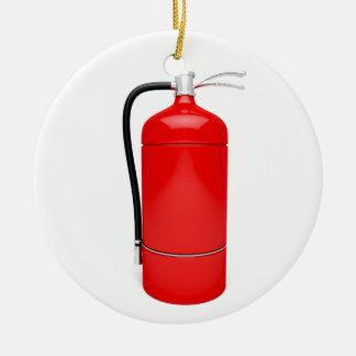 Ornamento De Cerâmica Extintor