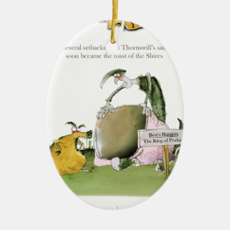 Ornamento De Cerâmica fabricante da salsicha de yorkshire do amor