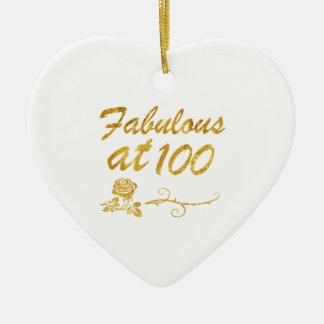 Ornamento De Cerâmica Fabuloso em 100 anos