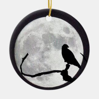 Ornamento De Cerâmica Falcão da noite